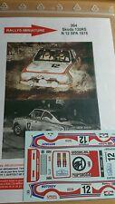 Decals 1/18 réf 994 Skoda 130 RS Spa 1978