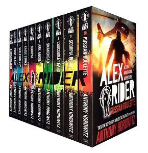 Anthony-Horowitz-Alex-Rider-Collection-10-Books-Set-Ark-Angel-Scorpia-Snakehead