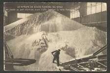 Chile Postcard Extraccion De Nitrato De Sodio Man Working L@@K