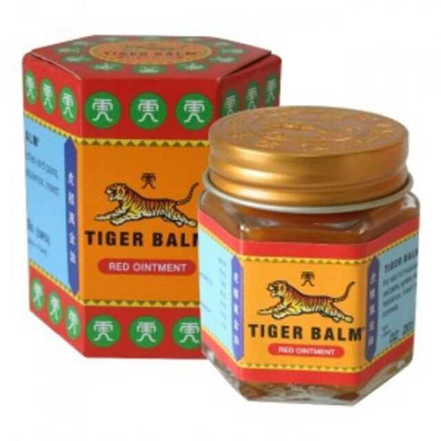 1x30g JAR RED TIGER BALM Over-the-Counter Medicine Pain Relief Health FREESHIP