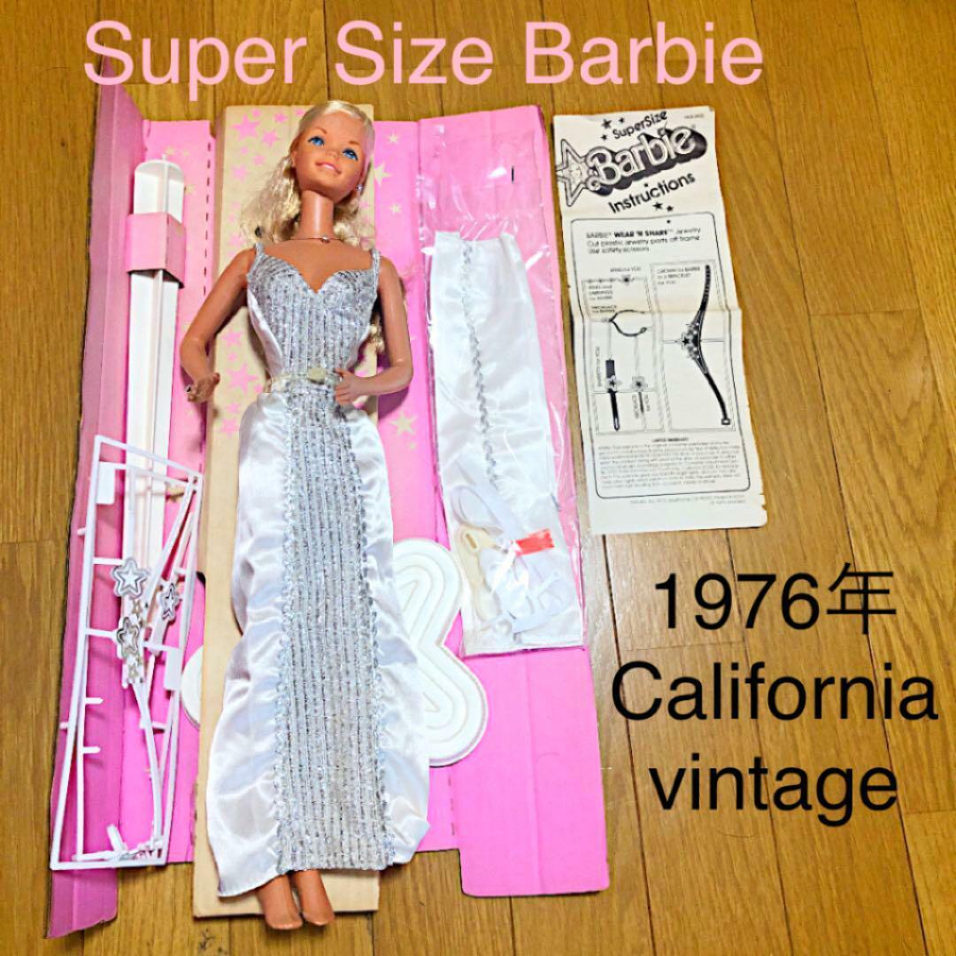 Barbie doll Jahr 1976 California MATTEL Super Größe 46cm w tracking f s
