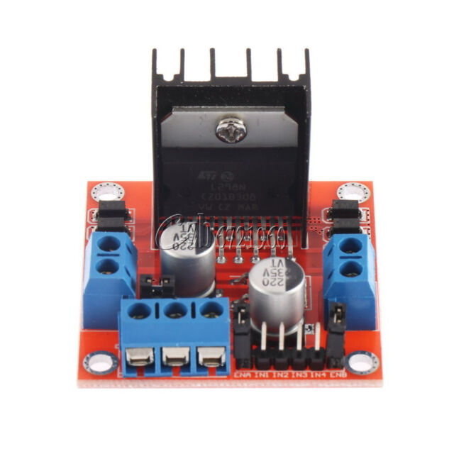 L298N DC and stepper Motor dual drive module for Arduino