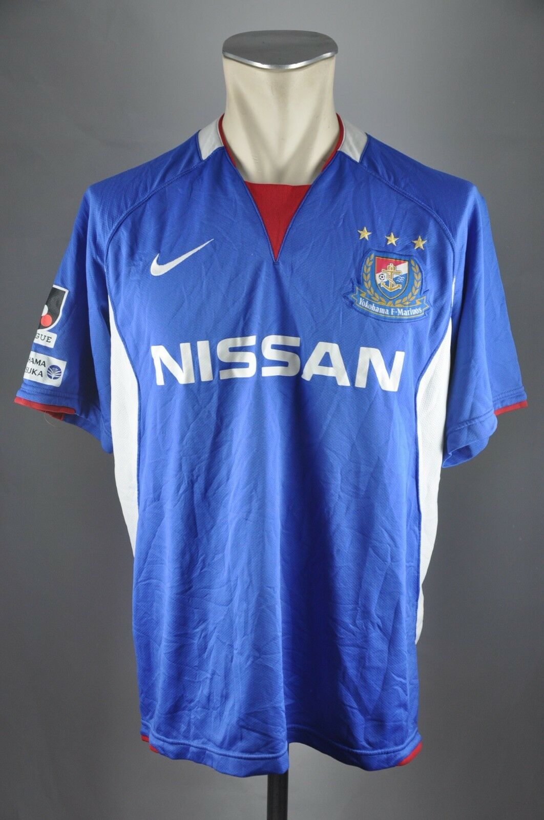 Yokohama F Marinos Home Trikot 2008-2009 Gr. L Japan J-Leageu Nissan