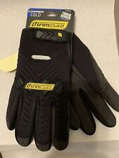 Ironclad Command Cold Gloves Size L Black Touch Screen Compatible Black Nwt