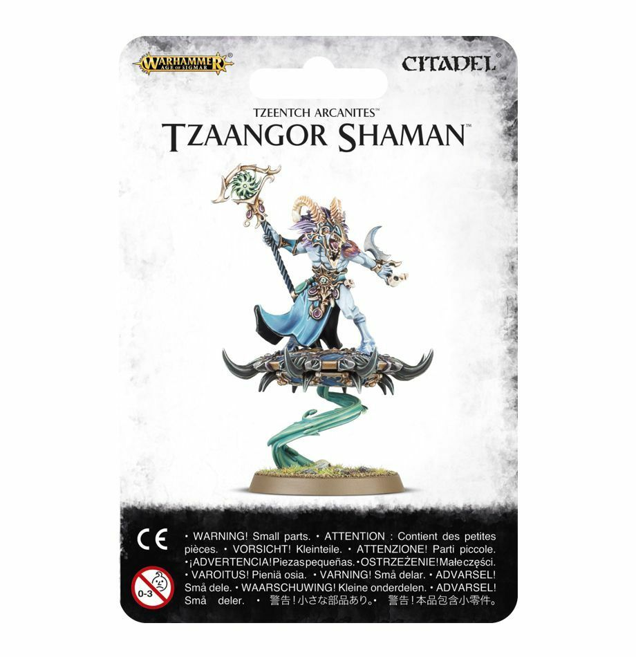 Tzeentch Arcanites Tzaangor Shaman Games Workshop GW Warhammer Age of Sigmar