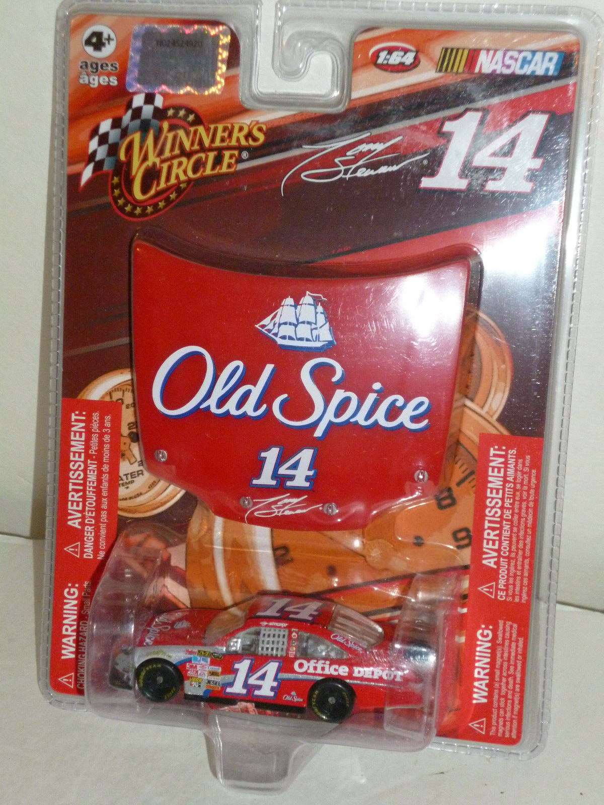 TONY STEWART OLD SPICE COT CHEVY 2009 HOOD SERIES WINNERS CIRCLE 1 64