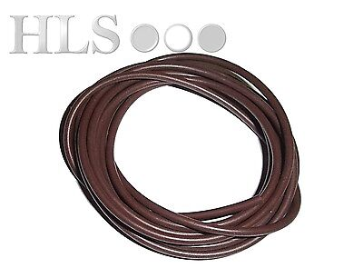 2m Brown silicone rig tube 0.5 - 5.0mm ID Food safe high temp - HLS Carp tackle