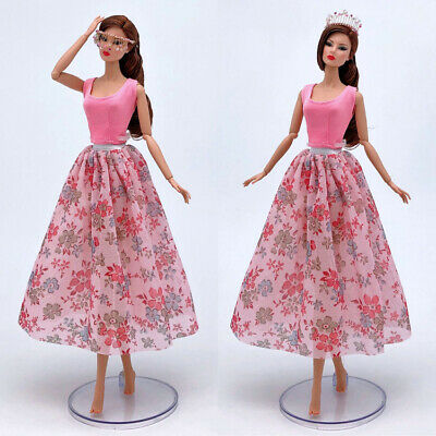 Doll #05 2 Pcs Set Fashion Outfit Top+skirt for 11.5 in