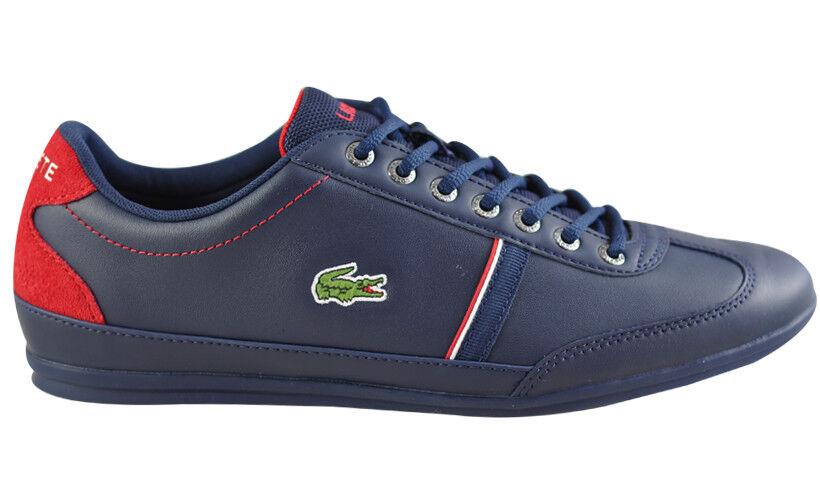 LACOSTE Misano Sport 118 Uomo exclusvie Sneaker Scarpe in pelle Scarpe classiche da uomo