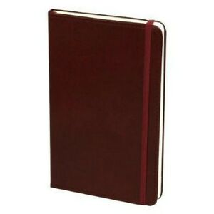 Journal-European-Bonded-Leather-Burgundy-Book-GRID-Pages-C-R-Gibson-Markings