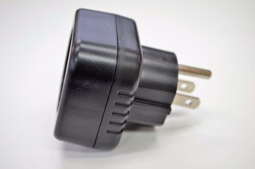 Schuko European to USA//CANADA Grounded Plug Adapter