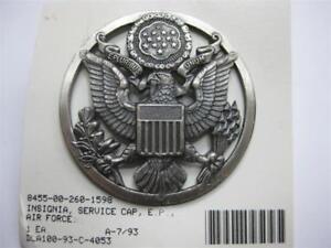 U.S. AIR FORCE MÜTZEN ABZEICHEN BADGE PIN SERVICE CAP RAMONES NEU OVP