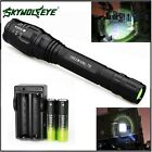 Zoomable 6000LM 5-Mode CREE XML T6 LED Flashlight Torch Lamp Light 18650&Charger