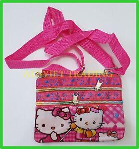 Brandnew Hello Kitty girls kids cartoon Wallet coin Purse tri-fold