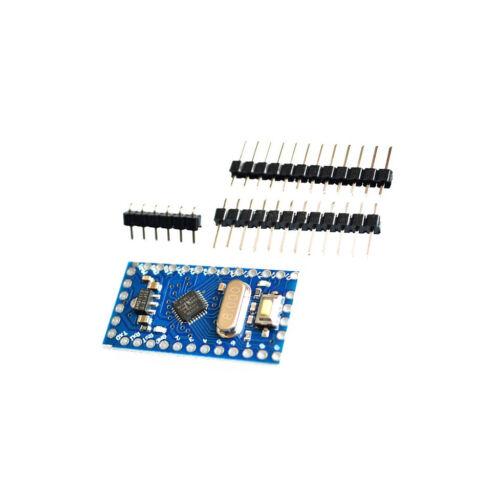 2PCS Pro Mini atmega168 3.3V 8M Arduino Compatible Nano replace Atmega328 NEW