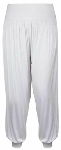 NEW WOMENS HAREM TROUSERS ALI BABA PANTS BAGGY HAREEM LEGGINGS PLUS SIZE 8-26