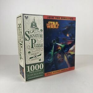 RARE-Star-Wars-Weekends-Disney-World-Puzzle-Limited-Edition-LENTICULAR-3D-2014