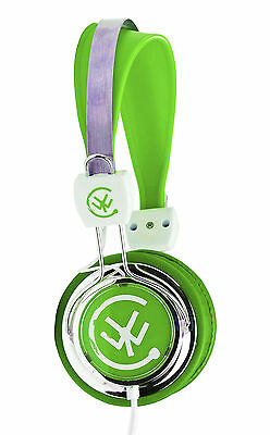 Urbanz TALKZ Headphones Earphones for Childrens Kids On Ear DJ Style - Green
