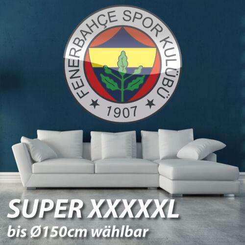 Duvar Yapiskani Wandtattoo Fenerbahce Süper kalite farbig gedruckt