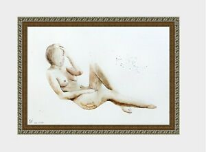 aquarelle-watercolor-A4-nude-female-drawing-originale-nu-women-woman-girl-5-new