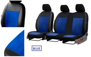 VOLKSWAGEN VW T5 2003-2015 SEAT COVERS ECO LEATHER /& ALICANTE MADE TO MEASURE
