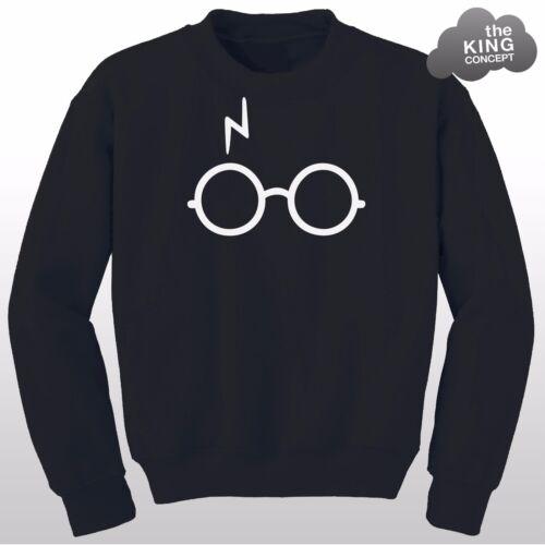 Lightning Occhiali Felpa cicatrice Magic non leviosa Potter doni della morte Harry