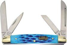 Frost Cutlery FSW115DBJB Steel Warrior Congress Folding Knife Blue Handle Folder