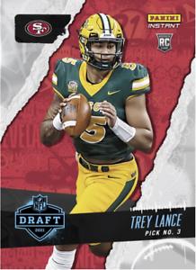 PRESALE 2021 Panini Instant Trey Lance QB Draft Night Pick RC Rookie QB RARE SP