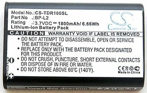 GT-R1 Replacement Battery for TASCAM DR-1