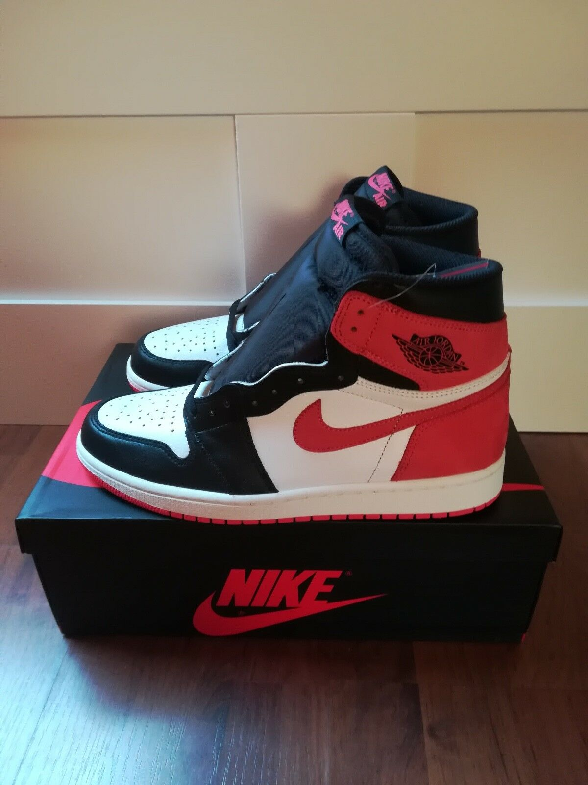 Air Jordan 1 High OG ''Track Red'' US 10