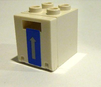 1 x LEGO® Schrank,Kasten,Briefkasten 4345 mit Tür//Klappe 2x2 gebraucht.