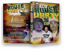 ECW Wrestling: House Party 1996 DVD-R, The Public Enemy Sandman Konnan Sabu