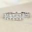 thumbnail 10 - 925 Silver Women Gemstone Birthstone Diamond Wedding Engagement Ring Wholesale