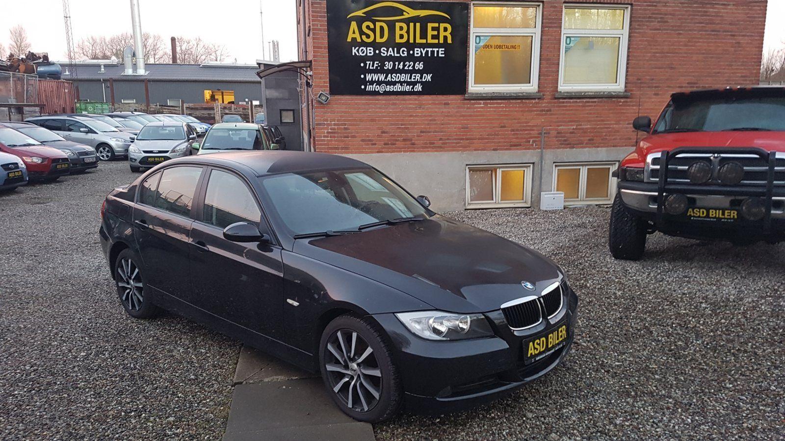 BMW 320d 2,0  4d - 105.000 kr.