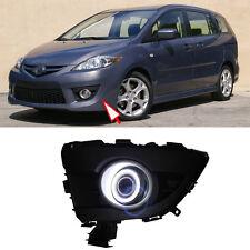 Superb COB Fog Lights Source Angel Eye Bumper Cover for Mazda 5 2008-2010