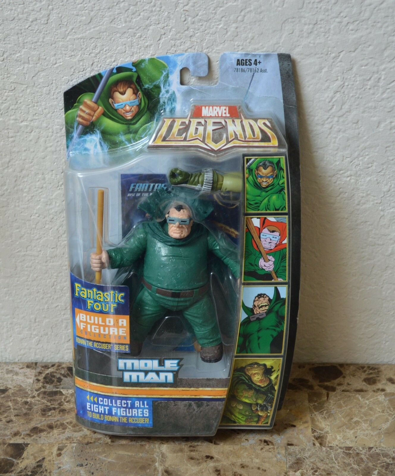Hasbro Marvel Legends Ronan l'accusateur Series Mole Man Action Figure