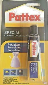 30g-Pattex-Porzellankleber-Spezialkleber-Porzellan-Kleber-Keramik-Ton-Elfenbein