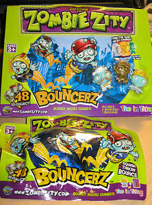Zombie Zity bouncerz-Gonflable Micro Zombies-NEUF-PACK aveugle  </span>