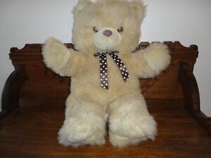 Vintage-Shaggy-Large-Teddy-Bear-SI-Edmonton-Alberta-Canada-20-inch