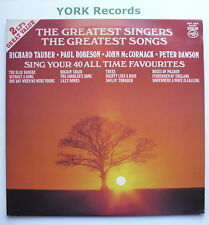 GREATEST SINGERS - THEGREATEST SONGS - Various - Ex Double LP Record MFP 1004