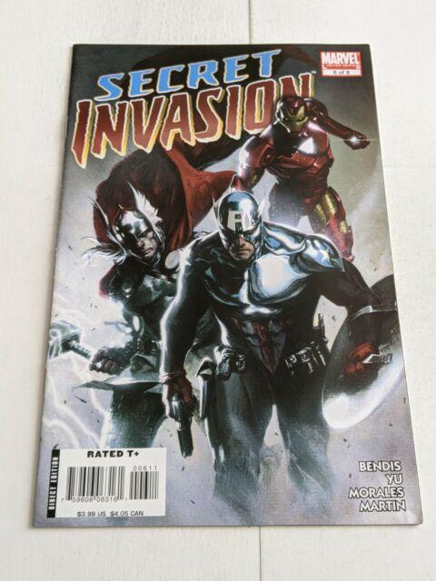 Secret Invasion #6 November 2008 Marvel Comics