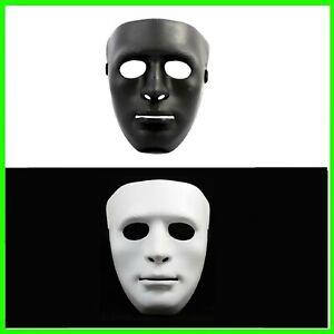 maschera x viso nera