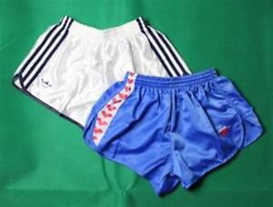 2x-Adidas-Arena-Sporthose-Nylon-Shorts-Badeshorts-XS-D4-Neu