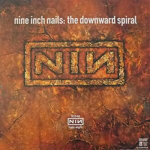 "NINE INCH NAILS ""DOWNWARD SPIRAL"" POSTER - Album Cover ..."