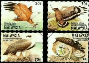 SJ-Birds-Of-Prey-Of-Malaysia-1996-Hawk-Animal-Eagle-Wildlife-stamp-MNH