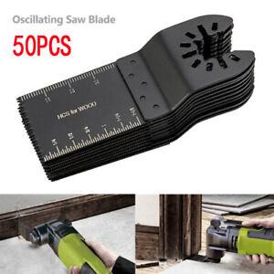 50-Pc-Oscillating-Multi-Tool-Saw-Blade-For-Fein-Multimaster-BOSCH-Dremel-Makita