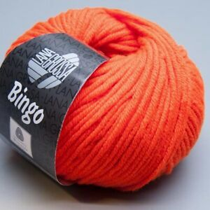Lana-Grossa-Bingo-708-neon-orange-50g-9-90-EUR-pro-100-g