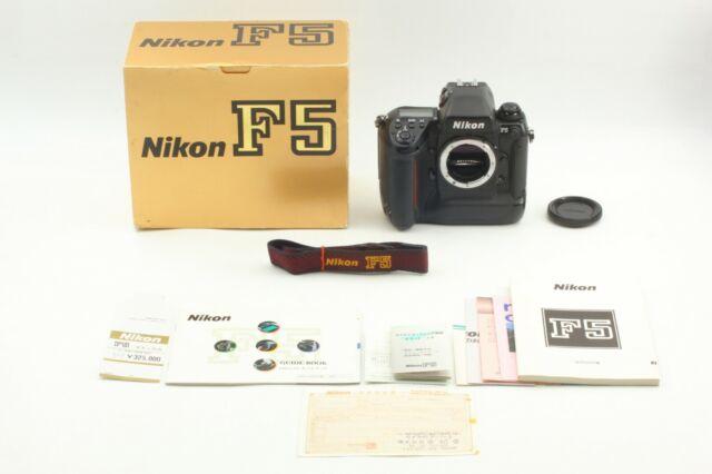 [ EXC+5 in Box ] Nikon F5 35mm SLR Film Camera Body + Cap,Strap Japan