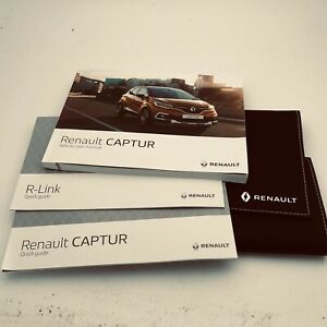 Renault Captur Capture Owners Manual Handbook And Wallet Pack