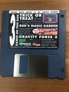 Amiga-Power-Magazine-cover-disk-39-Trick-Or-Treat-Bobs-Magic-TESTED-WORKING
